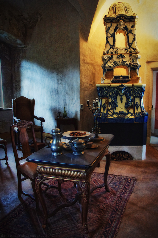 Stolpen Castle: Cosel Tower - living room
