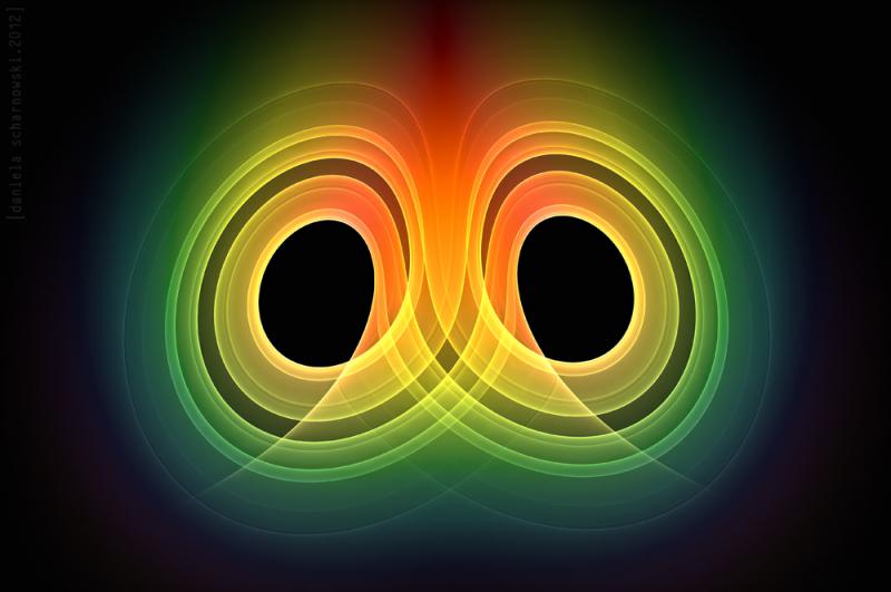 strange attractor one - Lorenz