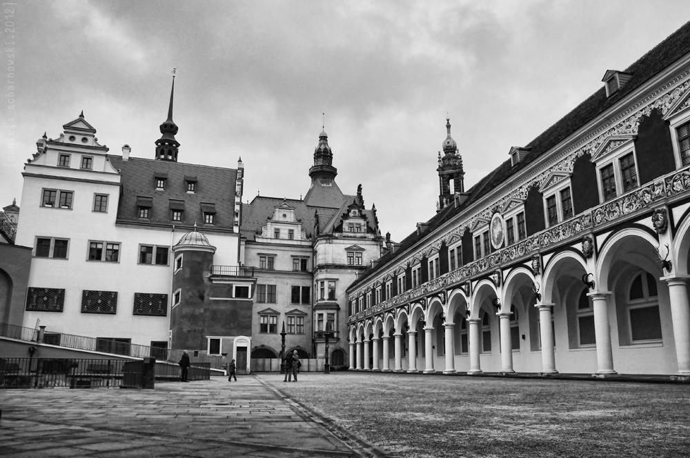 Residenzschloss Dresden - Stallhof