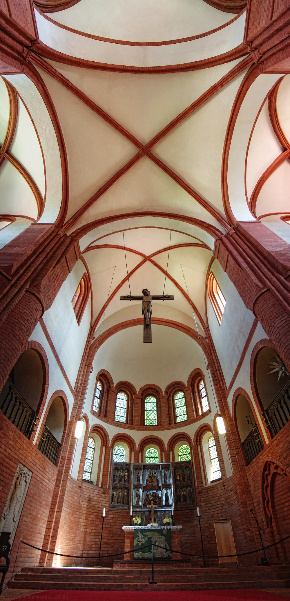 St. Mary of Lehnin Abbey, Apsis