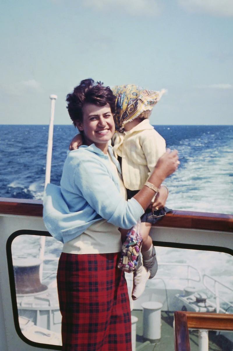 Mum & Sis 1964