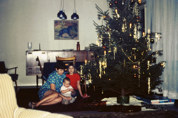 my very first christmas...