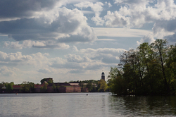 Havel river with Citadel