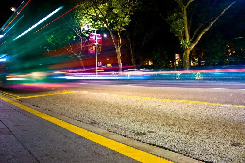 Bus Light Trail