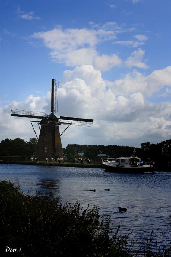 Sur la route d'Amsterdam....