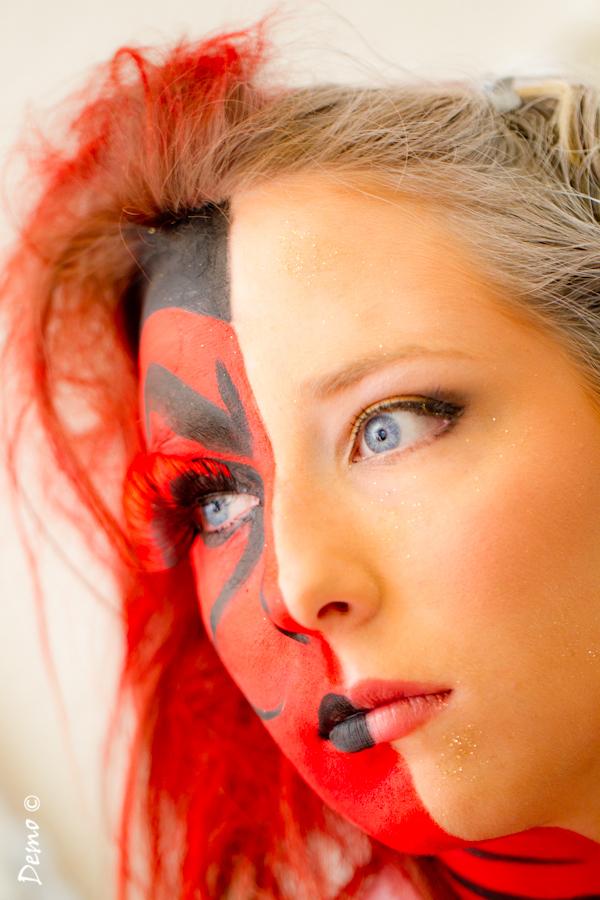 concours coiffure maquillage portrait
