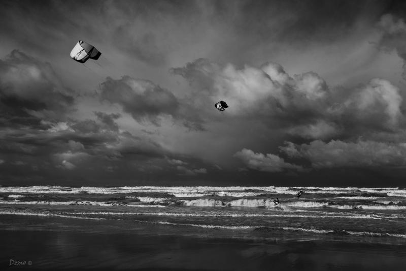kitesurf, Demophoto