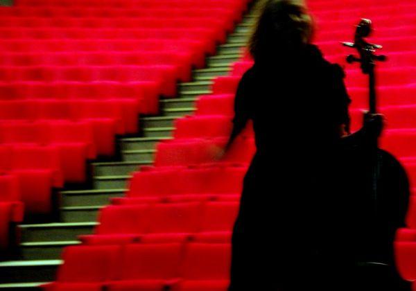 Violoncelle à l'orchestre rouge