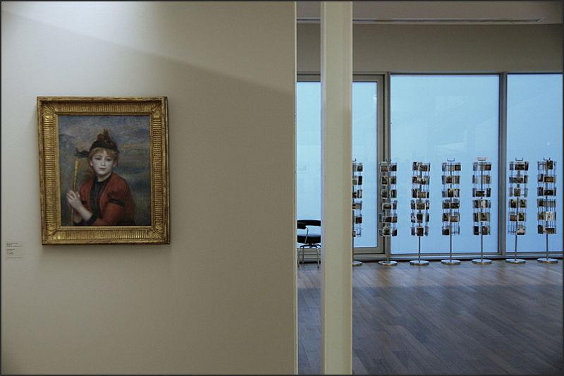 Renoir avant des cartes