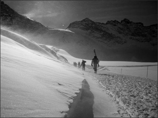 Vers le glacier de la Girose