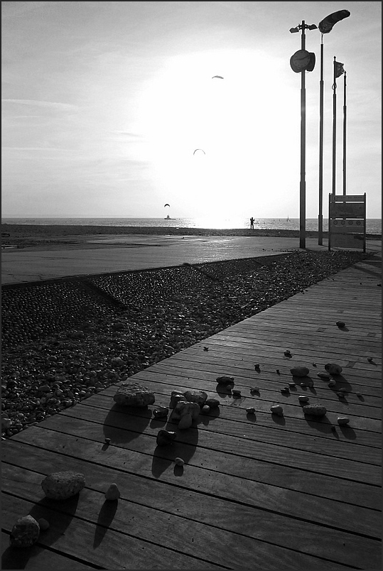 Le Petit Poucet à la plage...