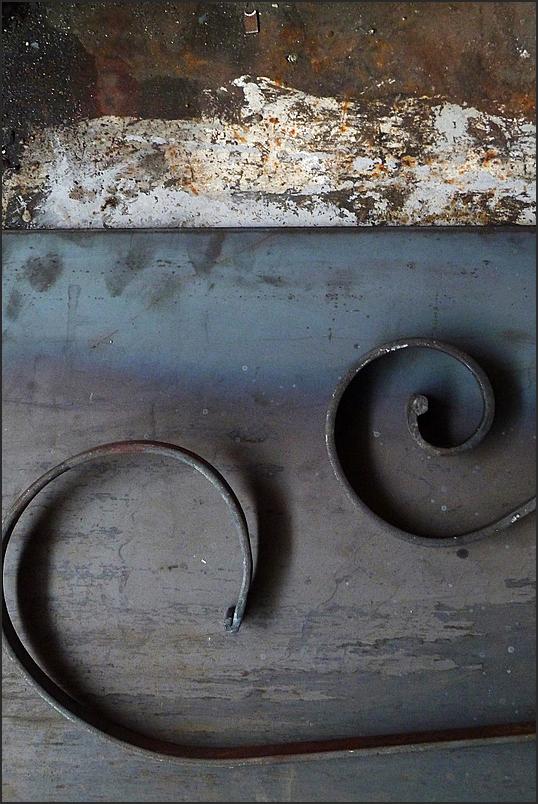 Dans l'atelier de métallerie 8
