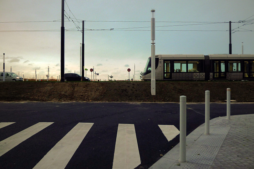 Tram à la plage -2