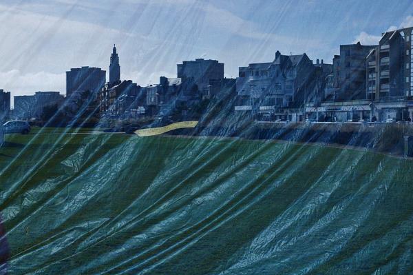 Le Havre, vague reflet
