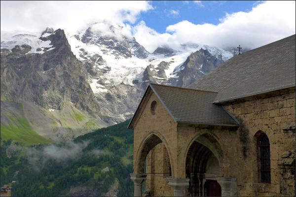 Saint-Mathieu des Terrasses et la Meije