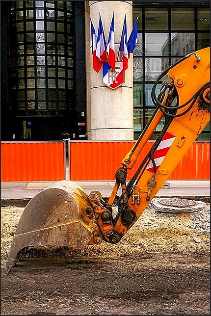 14 juillet : chantier de la République