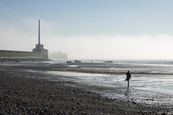 Brouillard sur l'estuaire