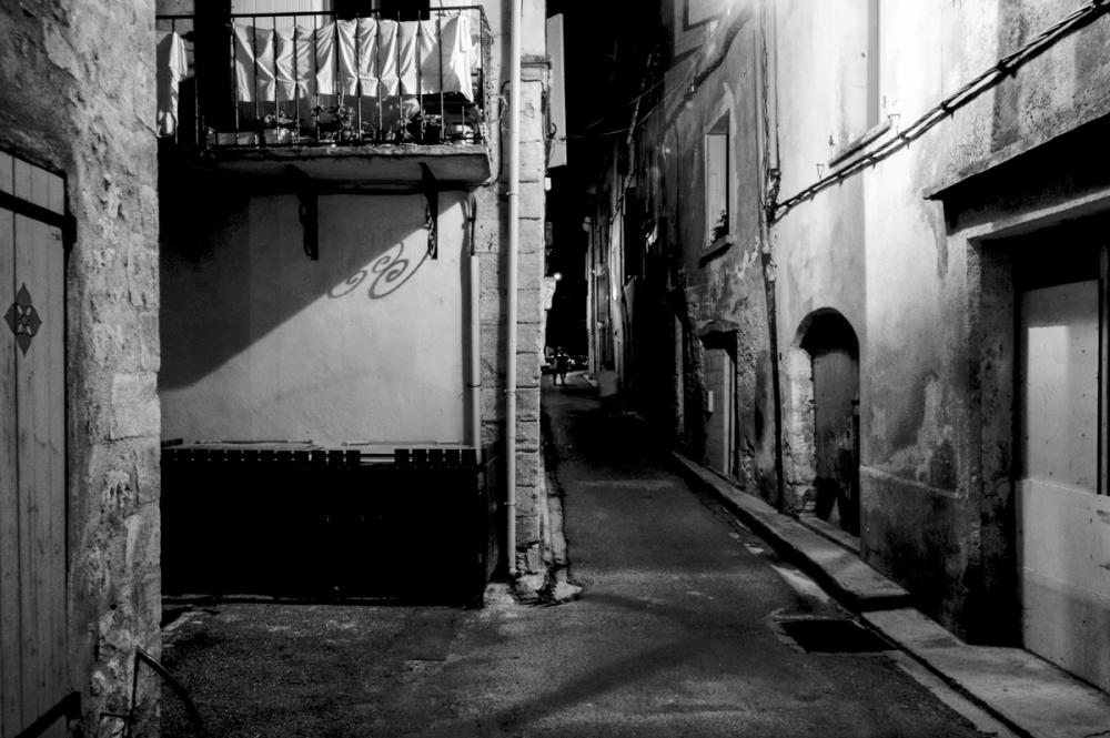 Balade nocturne dans Forcalquier