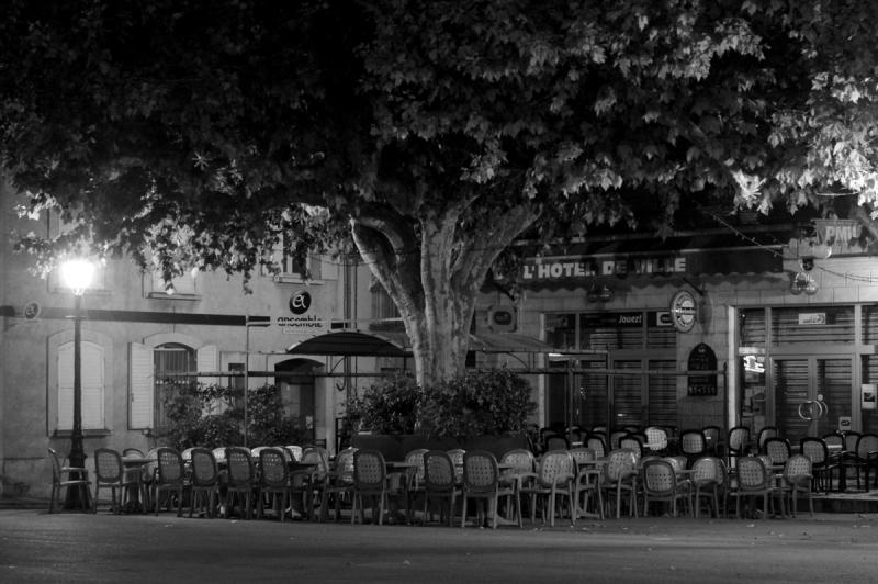 Place du Bourguet au repos