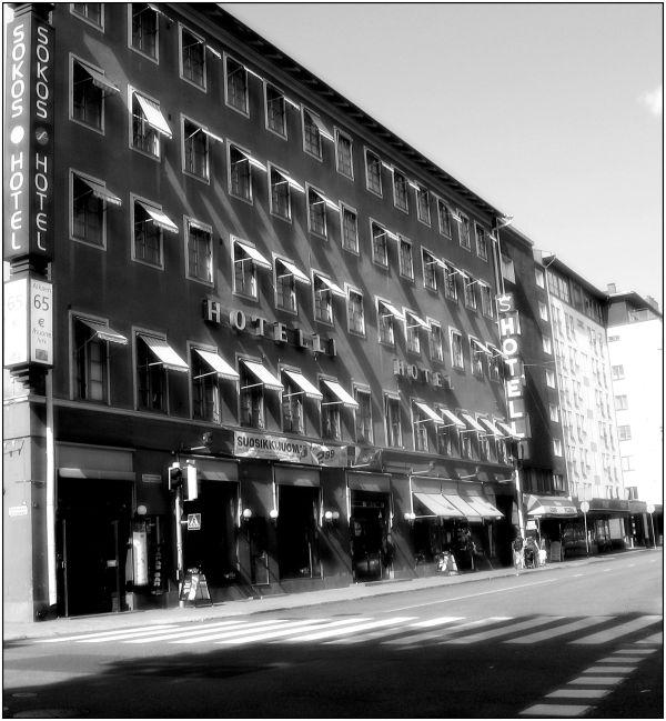 Street, B/W, Turku