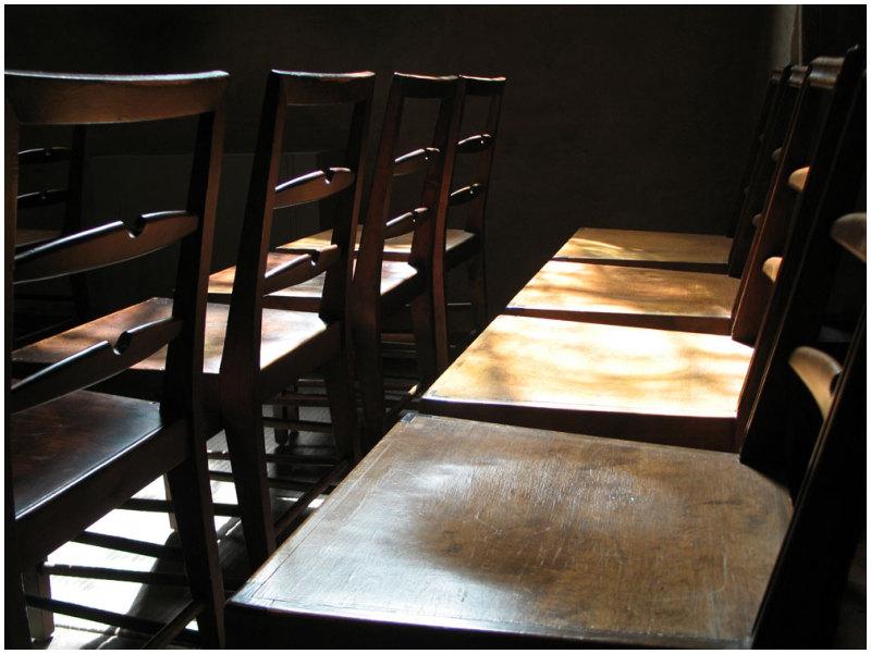 Chairs, Church