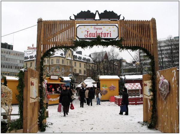 Xmas market square