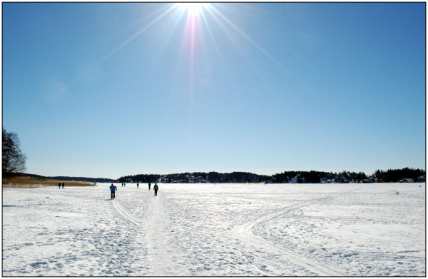 Sea, ice