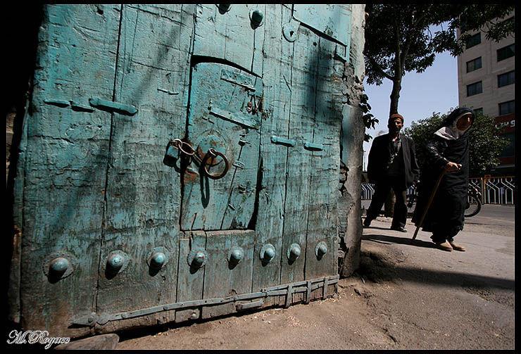 the door of carvanserai