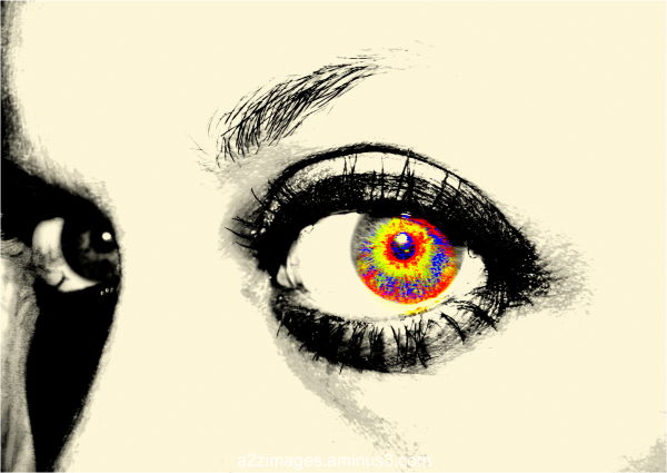 eye explosion