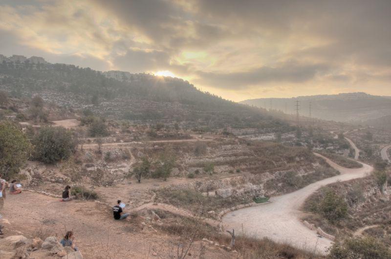 HDR, Israel, Sunrise