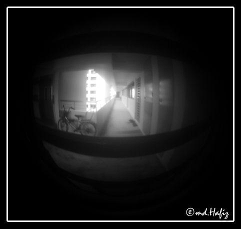 Through The Peephole by md.Hafiz