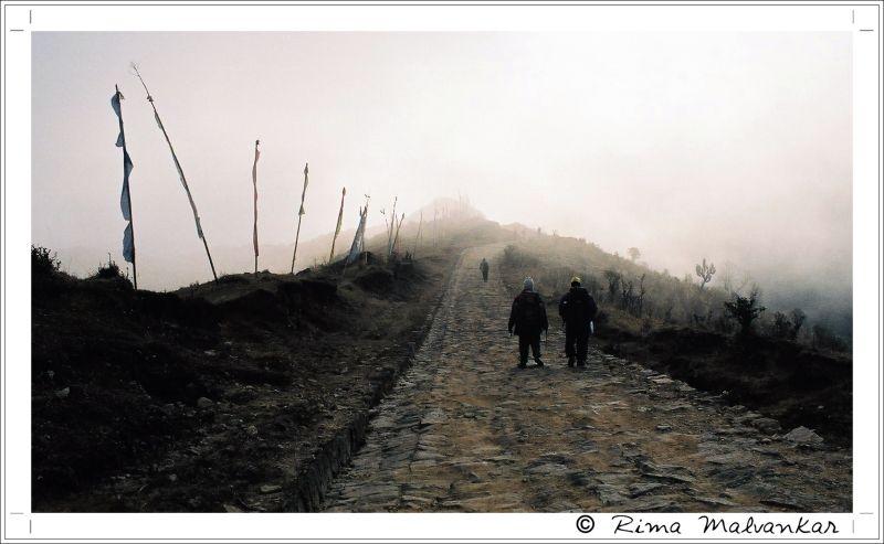 A walk in Clouds