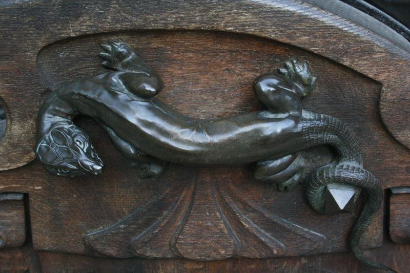 Poignée de porte 1900