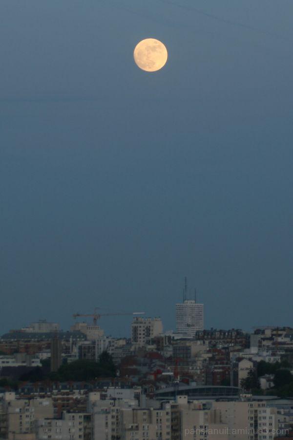 Lune du premier soir