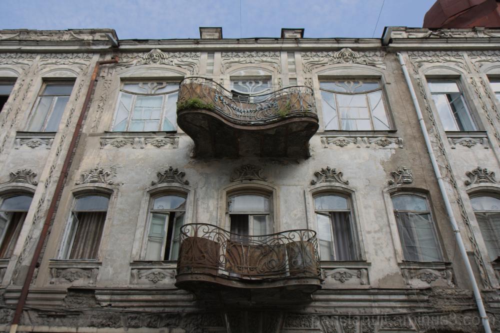 Le balcon asymétrique