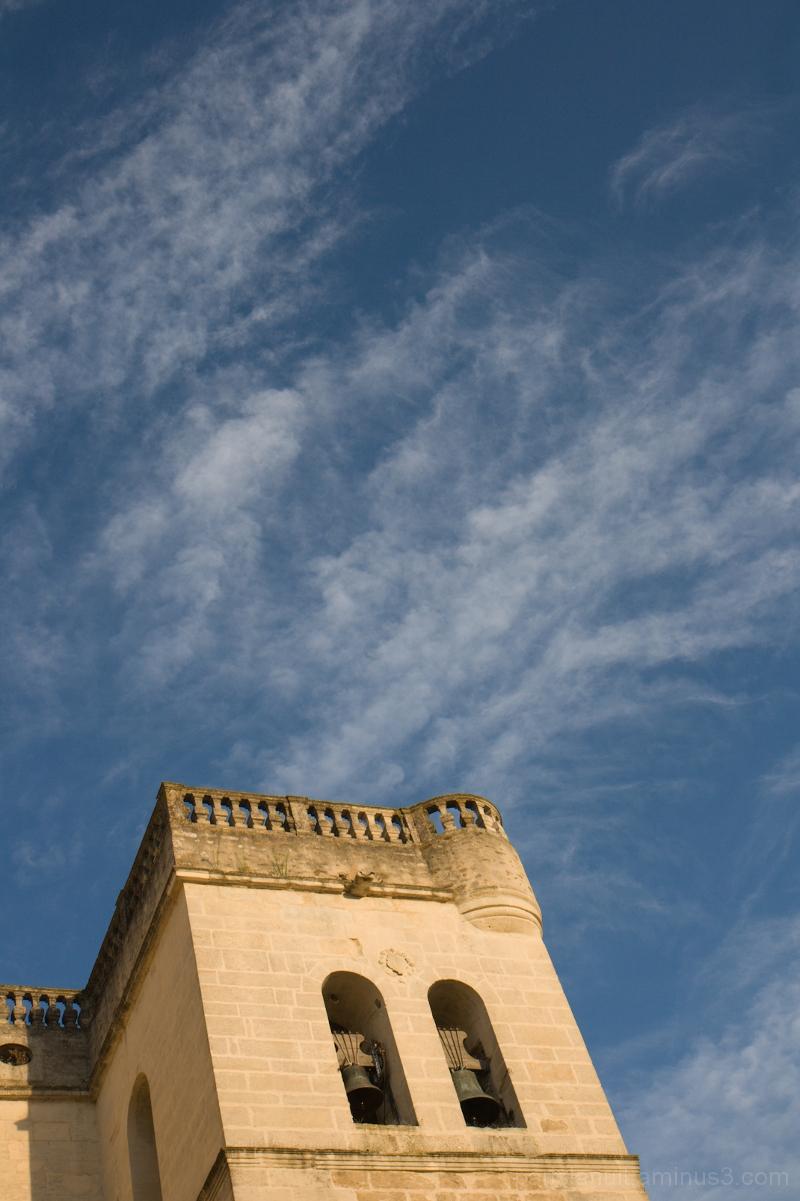 En regardant passer les nuages