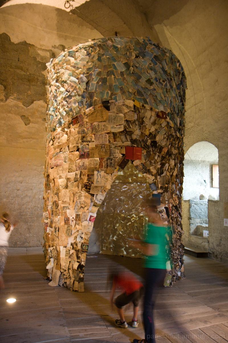 Cabane de papier