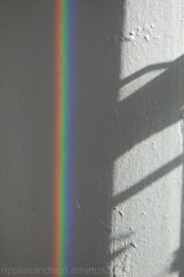 Own indoor rainbow