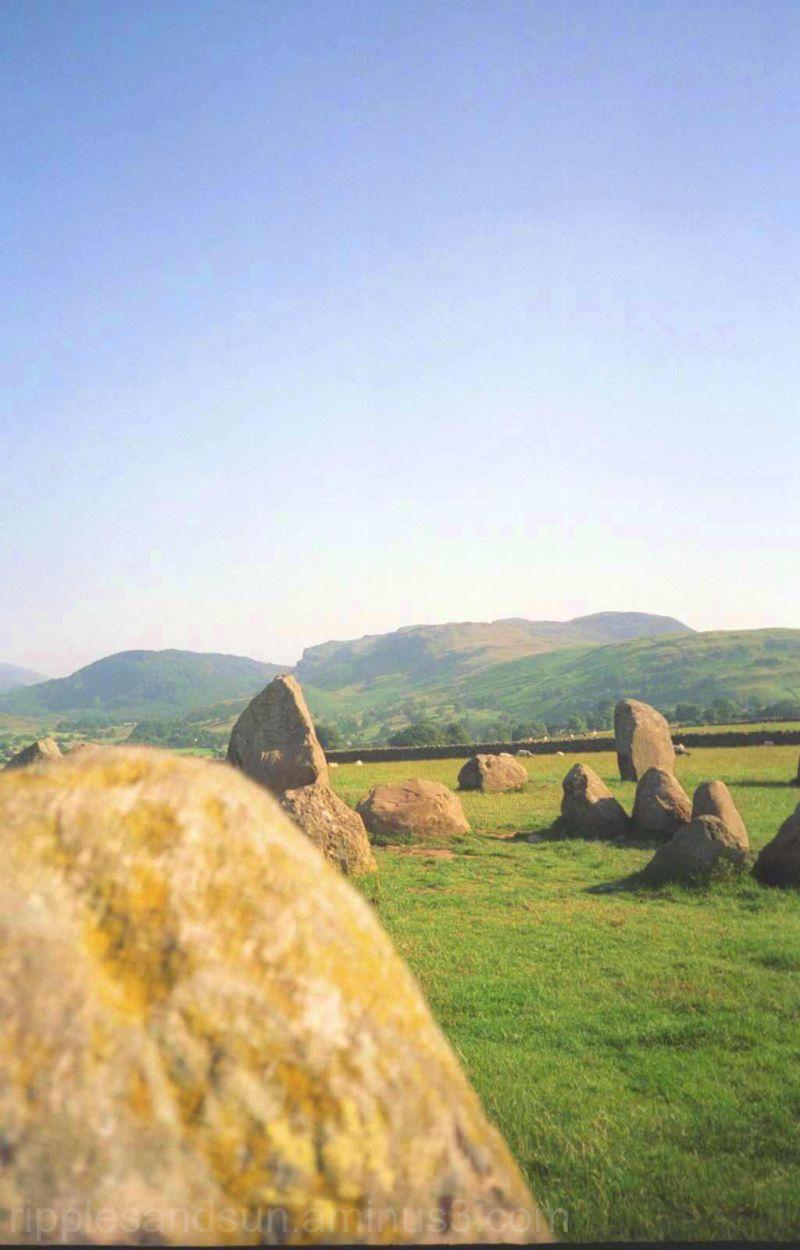 Lanscape 2 - Scottish Stone circle