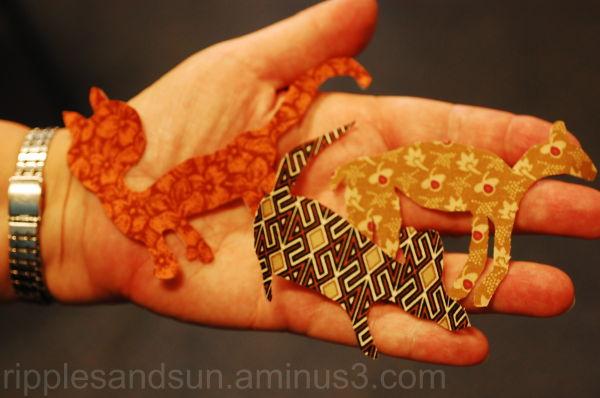 animals in one's hands