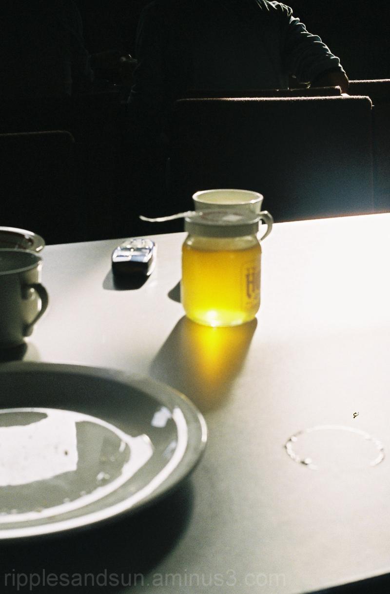 honeyed light