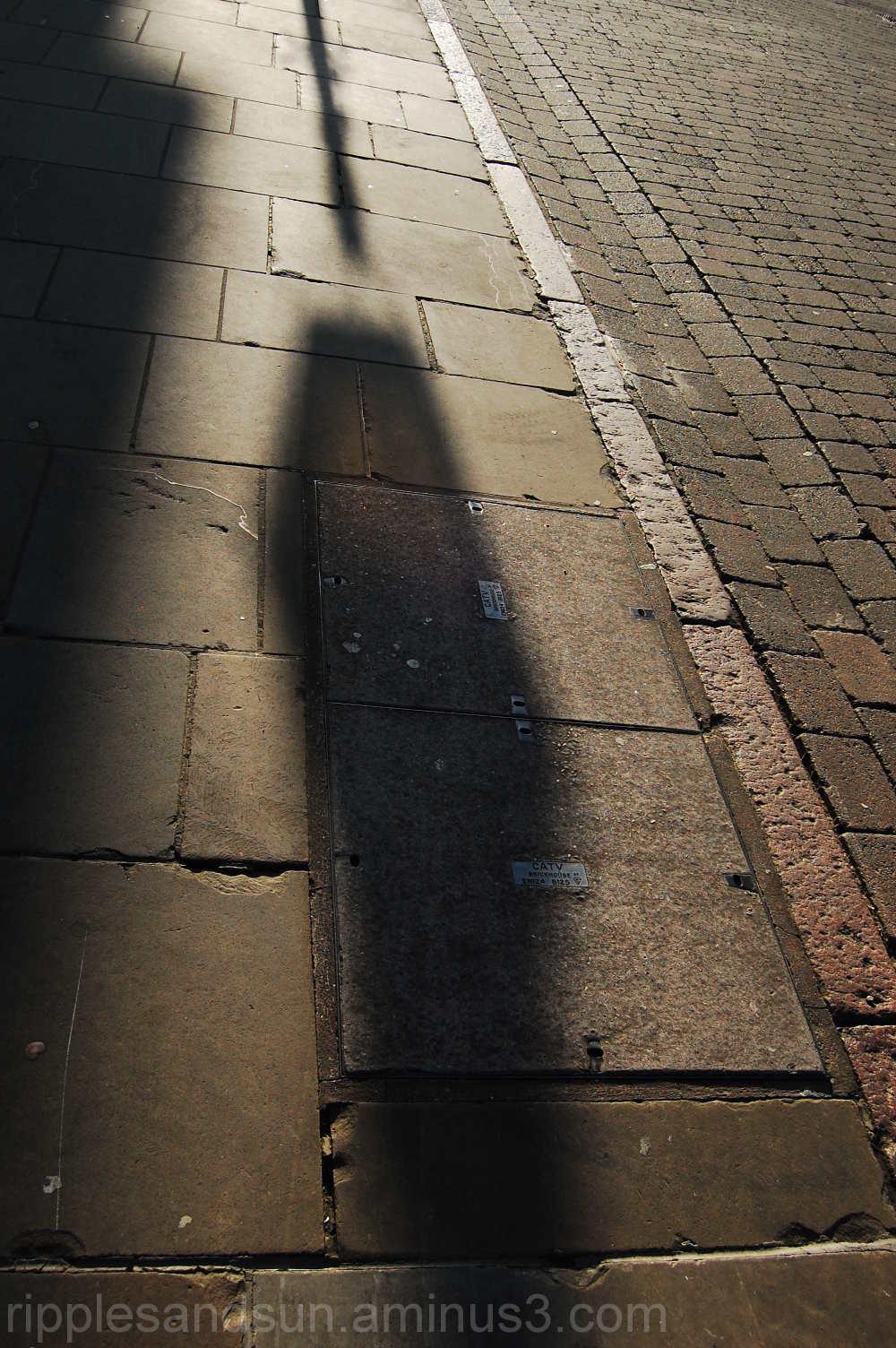 Street lamp shade
