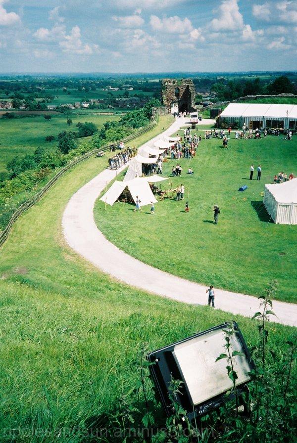 Roman encampment