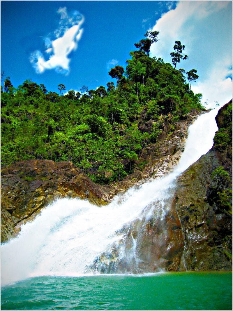 Postcards from Malaysia - Berkelah Falls