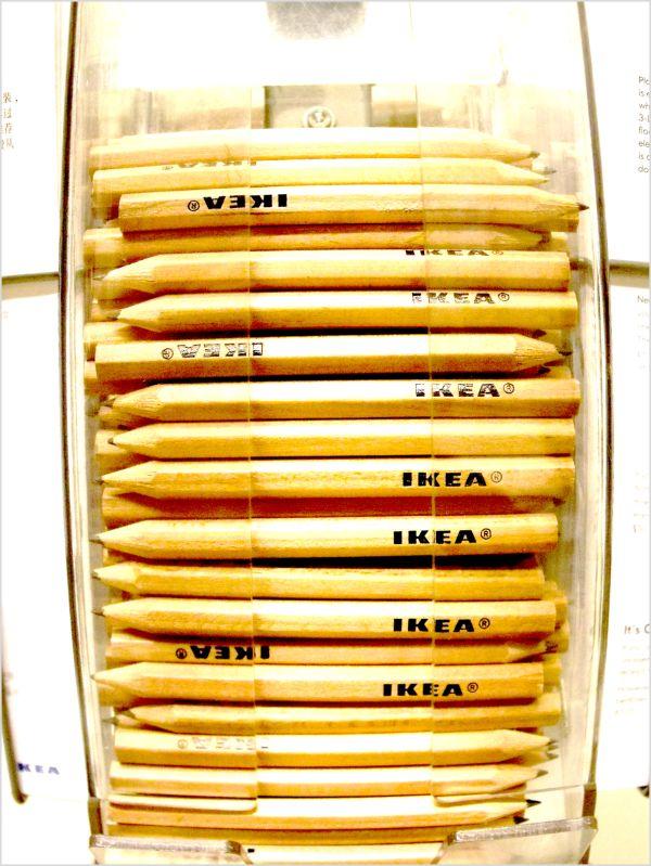 Ikea Fisheye Pencils!