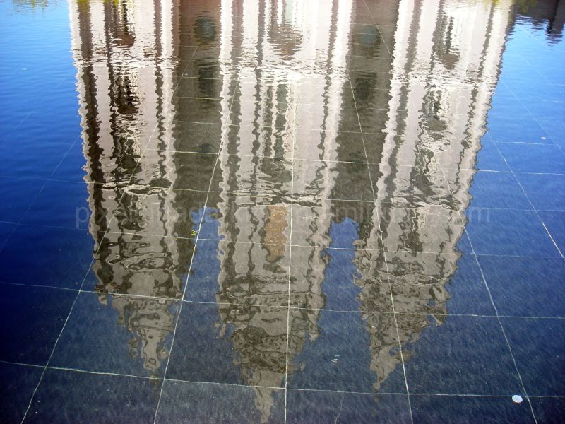 Reflecting pool at Salt Lake Temple