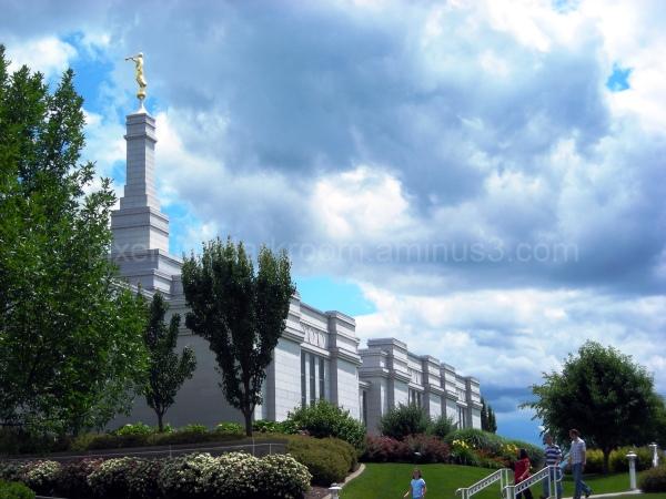 Palmyra New York LDS temple
