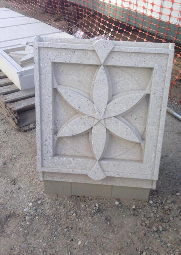 Stonework for the Meridian Idaho LDS Temple