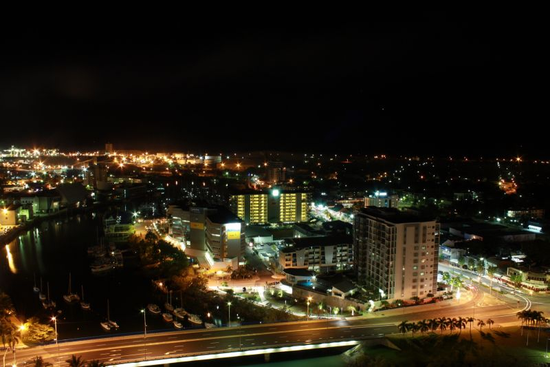 View over Townsville (Night) from the Peppershaker