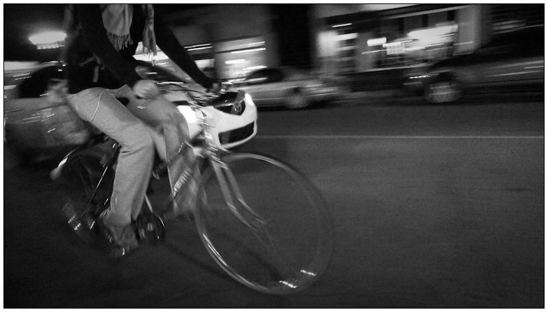 Women who ride at night